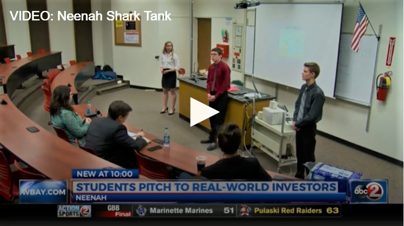 Neenah High School students have own version of Shark Tank