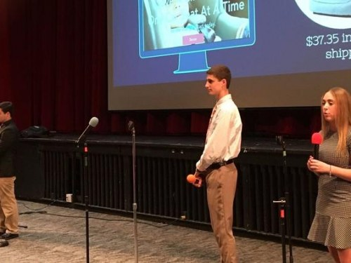 Deerfield H.S. students show their entrepreneurial skills