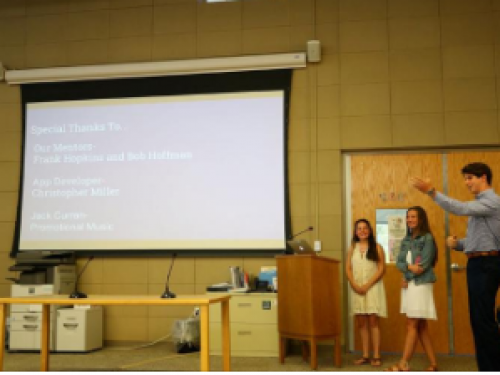 Chariho INCubator students make their pitches to local business panel, 'Shark Tank'-style