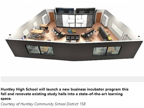 Huntley High to launch business incubator program this Fall