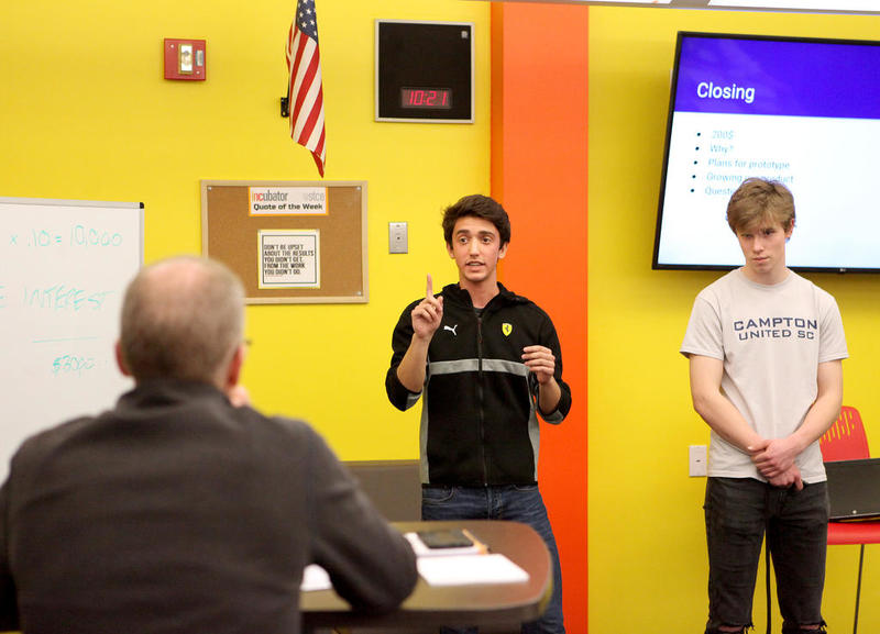 District 303's INCubatoredu program gives students practical entrepreneurial experience