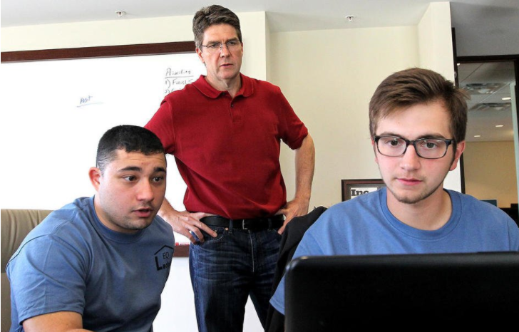 Prairie Ridge High School entrepreneurs prepare their pitches for business incubator course