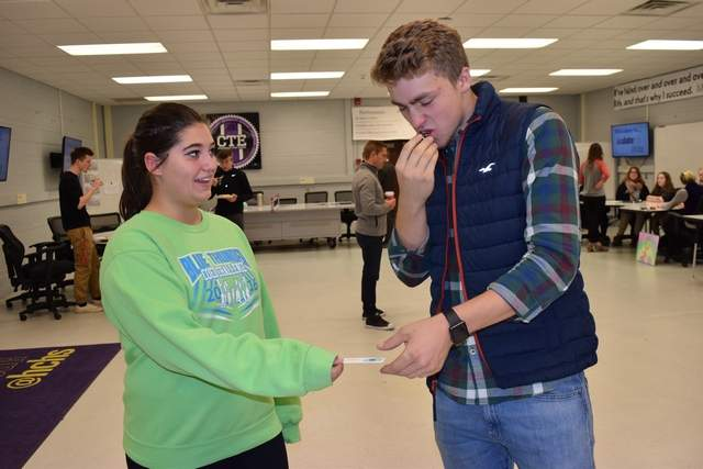 STUDENTS SHARE SWEET IDEAS FOR THEIR FUTURE BUSINESSES